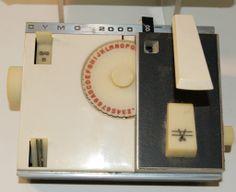 Dymo 2000 Desk Tapewriter, 1967