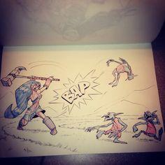 Bob Q Draws!! : Photo