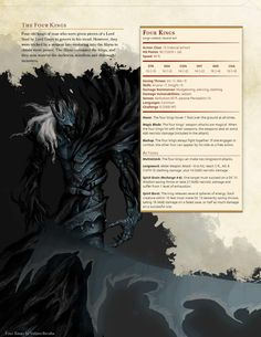 DnD Homebrew (Search results for: Monster) Dungeons And Dragons 5e, Dungeons And Dragons Homebrew, Monster Characters, Dnd Characters, Fantasy Creatures, Mythical Creatures, Gerardo Gonzalez, Dnd Stats, Dnd Races
