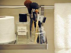make-up brush mason jar holder