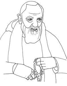 Saint / Padre Pio of Pietrelcina.  Feast is September 23