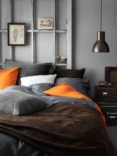 Poppytalk: 9 Inspiring Bedrooms Styled by IKEA Stylists Ikea Bedroom, Gray Bedroom, Home Bedroom, Bedroom Furniture, Bedroom Decor, Bedroom Ideas, Ikea Inspiration, Bedroom Layouts, Bedroom Styles