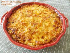Potiron et ravioles en gratin Macaroni And Cheese, Cooking, Breakfast, Ethnic Recipes, Fondant, Food, Polenta, Nutrition, Drinks