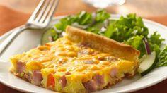 ham and egg crescent bake