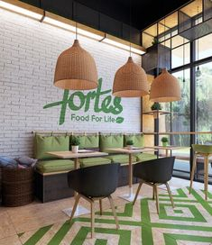Interior Fortes cafe