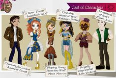 Ever After High | My Complete Ever After High Cast by MandigaO