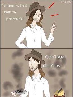 Vegan pancakes or death!