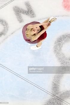 Marin Honda competes in the ladies free skating during day three of the All Japan Figure Skating Championships at the Musashino Forest Sports Plaza on December 2017 in Chofu, Tokyo, Japan. Ice Skating, Figure Skating, Figure Ice Skates, Alina Zagitova, Marines, Gymnastics, Honda, Athlete, Lady