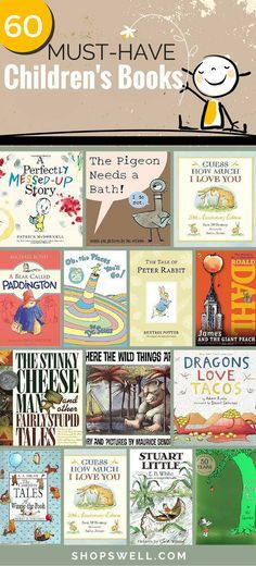 Here are 60+ classic (new and old) books every child should read and every classroom should have!