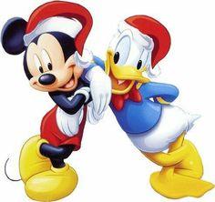 Christmas - Disney - Mickey Mouse & Donald Duck