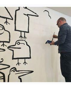 Serge Bloch Paris/NYC Total inspiration So talented. American Illustration, Illustration Art, Textile Patterns, Print Patterns, Art Encounters, Business Illustrations, Serge Bloch, Surf Art, Wall Treatments