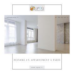 Vous souhaitez peindre un appartement à Paris ? Suivez les conseils d'une entreprise de peinture à Paris pour réaliser vos travaux. Construction, Narrow Hallways, Parisian Apartment, Building