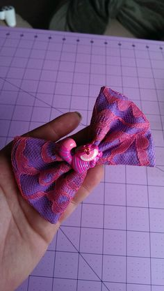 Items similar to Chesire Cat Lace Bow on Etsy Chesire Cat, Lace Bows, Fabric Bows, Halloween Ideas, Wonderland, Alice, Super Cute, Cosplay, Trending Outfits