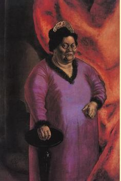 """Otto Dix, The Art Dealer Johanna Ey, 1924  """"This unlikeliest of art dealers was known as """"Mother Ey"""" to the artists she nurtured."""""""
