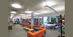 Metal MicroLook Ceilings with Acoustic Fleece for Sound Absorption