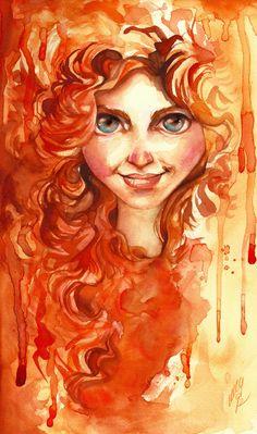 Merida-Brave by *EmegE on deviantART