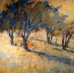 Oil Paintings of Orchards | Oil on Canvas