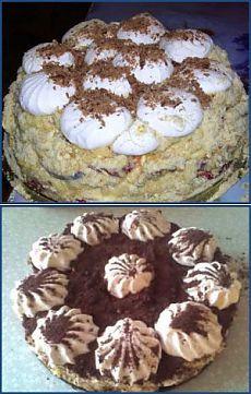 Зефирный торт без выпечки.