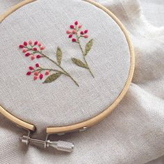 An Encyclopedia of Ribbon Embroidery Flowers: 121 Designs (American School of Needlework, No. Embroidery Hoop Crafts, Embroidery On Clothes, Flower Embroidery Designs, Simple Embroidery, Rose Embroidery, Hand Embroidery Stitches, Silk Ribbon Embroidery, Embroidery Techniques, Embroidery Supplies