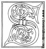 Public domain images, woodcuts, letters, children's book illustrations, and borders at fromoldbooks.org