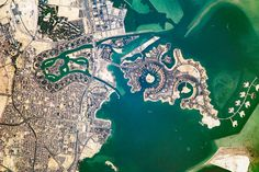 The Pearl-Qatar : Image of the Day : NASA Earth Observatory