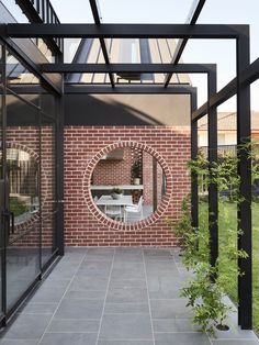 Integrated Outdoor Living with Five Leading Australian Architects Outdoor Areas, Outdoor Rooms, Outdoor Living, Outdoor Decor, Recycled Brick, Edwardian House, Clay Houses, Garden Design, House Design