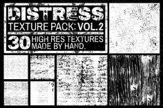 Check out Distress Texture Pack: Vol. 2 by mattborchert on Creative Market