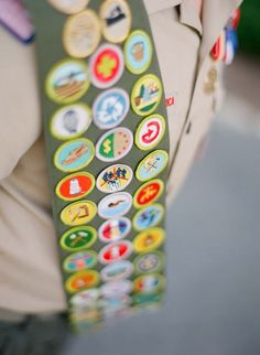 Would be cute for the kids to earn a badge after visiting each center/after each activity