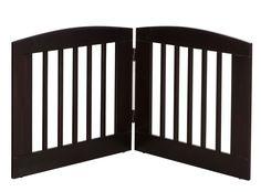 Ruffluv 2 Panel Expansion Dog Gate