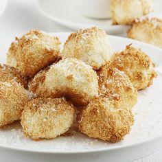 Kokosanki | AniaGotuje.pl Krispie Treats, Rice Krispies, Cereal, Food And Drink, Vegetarian, Sweets, Cookies, Baking, Breakfast