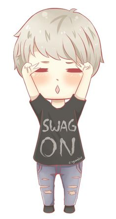 Suga cartoon anime so cute Chibi Boy, Bts Chibi, Kawaii Chibi, Min Yoongi Bts, Min Suga, Seungri, Bigbang, Kpop Drawings, Bts And Exo