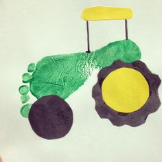 Tractor Crafts Ideas John D On Pig Paper Bag Puppets Farm Crafts For Kids Pupp - Vinegret Daycare Crafts, Classroom Crafts, Farm Animal Crafts, Farm Animals, Animal Projects, Art Projects, Toddler Art, Toddler Crafts, Tractor Crafts