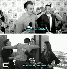 THEY KNOW <<-- yeah but the best thing is the interviewer lady's face! she looks so confused x)