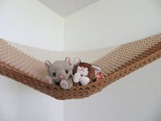 Large stuffed animal storage net, kids toy hammock, beige ombre colorblock, beachy sandy theme bedroom  Bring the toys up off the floor with this nice, neutral toy net in cream, beige and warm brown, great for a girls or boys room.  My nets are made of sturdy acrylic yarn with a mesh design.  We use ours for stuffed animals. Please make sure you hang yours properly and put lighter weight toys inside to prevent accidents, just in case something falls out.  The toy net in this listing is…
