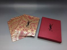 YSL-Beauty-VIP-Gift-Red-Packet-Lai-See-Envelope-Set-of-10-BRAND-NEW