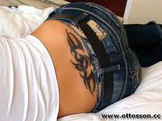 I don't care what is it or what others think. A tattoo on the small of a back of woman has got to be the sexiest thing!!! To hell with the haters!!!