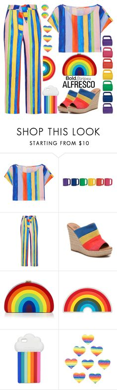"""""""Easy Breezy"""" by shoaleh-nia ❤ liked on Polyvore featuring Mara Hoffman, Milly, Anya Hindmarch, STELLA McCARTNEY and Pastease"""