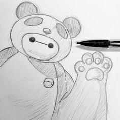 cute baymax drawings - Google Search
