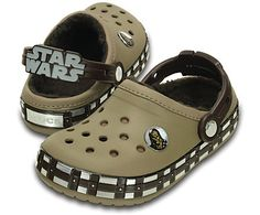 Stay warm as a Wookiee in this special-edition clog celebrating Chewbacca, complete with a toasty lining. These clogs also feature a Chewbacca badge on the uppers, as well as plenty of Wookiee details all around. All of the Crocs comfort kids love is here, thanks to Croslite™ foam construction for plenty of cushion. Free shipping on qualifying orders.