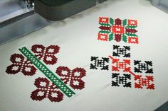 Broderie la comanda Pitesti - broderii personalizate Christmas Sweaters, Art, Embroidery, Bruges Lace, Advertising, Art Background, Kunst, Christmas Jumpers, Performing Arts