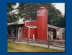 Dairy Barn drive-through from Long Island. Visit http://www.longisland70skid.com  for many views and memories of 1970s Long Island.