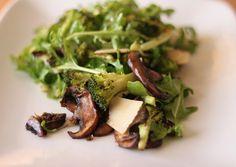 Roasted Broccoli Salad with Arugula &...
