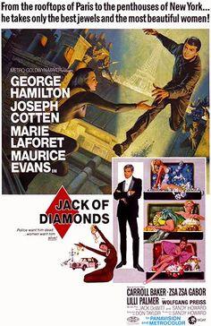 Jack Of Diamonds - 1967 - Movie Poster