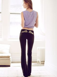 From your studio to the street, how could you possibly do without? | Victoria's Secret Yoga Pant