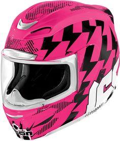 Girls Icon motorcycle helmet