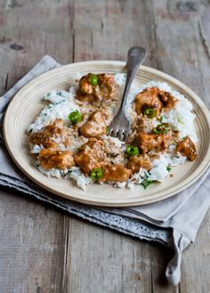 Lemon Chicken with Basmati Rice