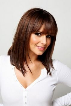 Hair Styles With Bangs Medium Length Hairstyles With Bangs For Fine Hair  Beauty