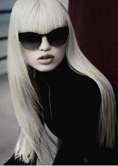 "yourstyleforecast: "" Daphne Groeneveld by Inez Van Lamsweerde & Vinoodh Matadin for Miu Miu Eyewear (via. dormanta) """