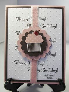 Have you glanced through the new Occasions Mini yet? If you haven't, you don't know what your missing! Our Create a Cupcake stamp set and Cupcake Punch. Look below for a fun idea with the cupcake set and punch. What's...