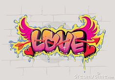 Love Graffiti Stock Photos, Images, & Pictures – (2,272 Images)